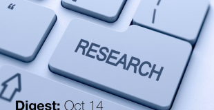Research Digest – Oct. 2014