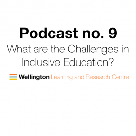 Podcast no. 9: Simon Knight – What are the challenges in inclusive Education?