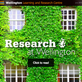 Learning and Research Journal Volume 1.